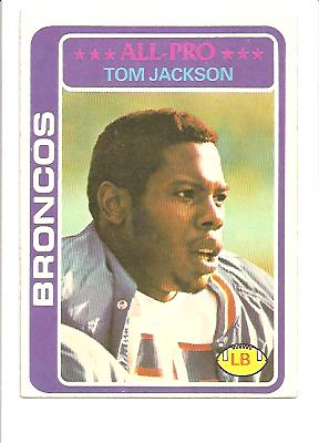 1978 Topps #240 Tom Jackson RC