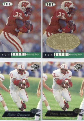 Ron Dayne, 2000 Sage Hit NRG Card #33
