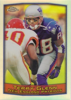 1999 Topps Chrome Refractors #116 Terry Glenn