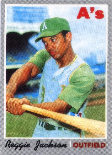 1970 Topps #140 Reggie Jackson