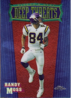 1999 Topps Chrome Season's Best #SB13 Randy Moss