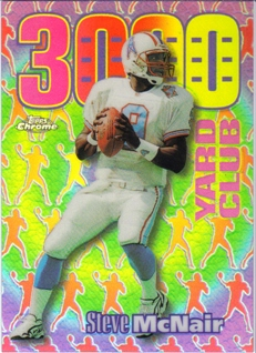 1999 Topps Chrome All-Etch Refractors #AE12 Steve McNair