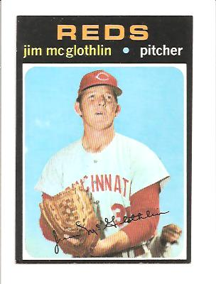 1971 Topps #556 Jim McGlothlin