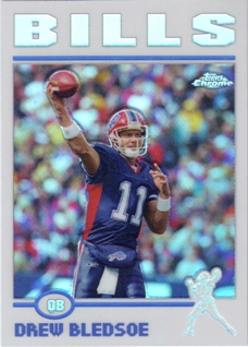 2004 Topps Chrome Refractors #133 Drew Bledsoe