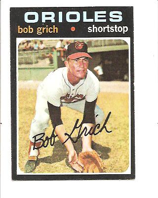 1971 Topps #193 Bob Grich RC