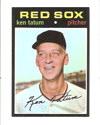 1971 Topps #601 Ken Tatum