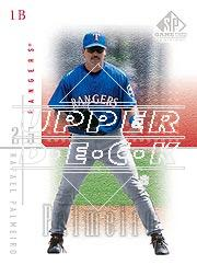 2001 SP Game Used Edition #16 Rafael Palmeiro