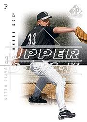 2001 SP Game Used Edition #25 David Wells