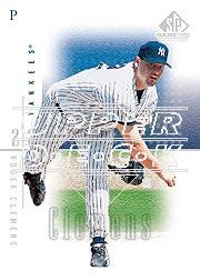 2001 SP Game Used Edition #29 Roger Clemens