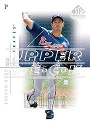 2001 SP Game Used Edition #34 Greg Maddux