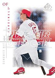 2001 SP Game Used Edition #37 Jim Edmonds