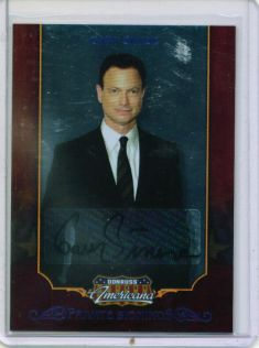 2009 Americana Private Signings #25 Gary Sinise/54 front image