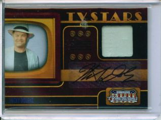 2009 Americana TV Stars Signature Material #17 Micky Dolenz/100