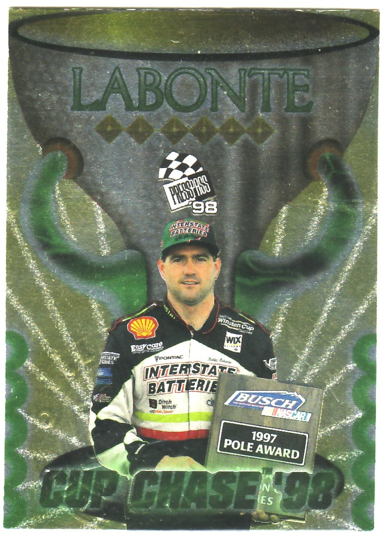 1998 Press Pass Cup Chase #CC11 Bobby Labonte Win 2