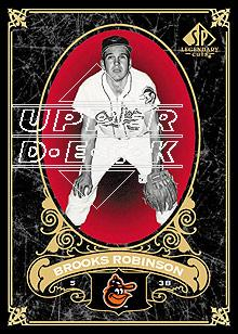 2007 SP Legendary Cuts #2 Brooks Robinson