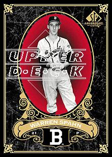 2007 SP Legendary Cuts #6 Warren Spahn