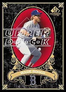 2007 SP Legendary Cuts #9 Wade Boggs