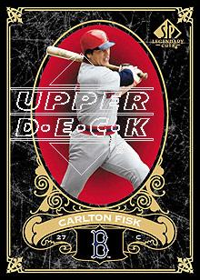 2007 SP Legendary Cuts #10 Carlton Fisk
