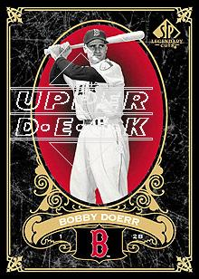 2007 SP Legendary Cuts #12 Bobby Doerr