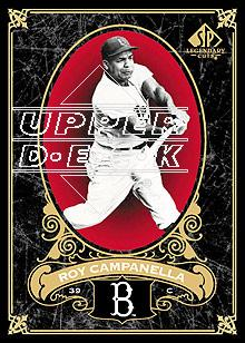 2007 SP Legendary Cuts #13 Roy Campanella