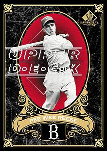 2007 SP Legendary Cuts #14 Pee Wee Reese