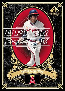 2007 SP Legendary Cuts #15 Rod Carew