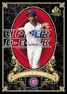 2007 SP Legendary Cuts #16 Ernie Banks