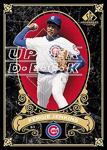 2007 SP Legendary Cuts #17 Fergie Jenkins
