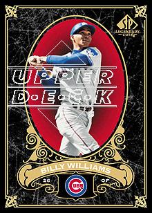 2007 SP Legendary Cuts #18 Billy Williams