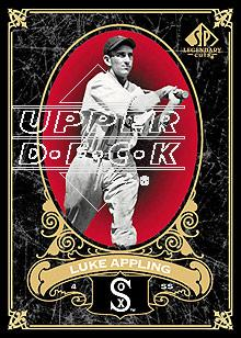 2007 SP Legendary Cuts #22 Luke Appling front image