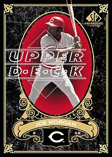 2007 SP Legendary Cuts #23 Joe Morgan