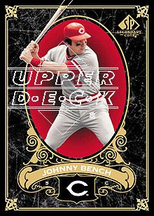 2007 SP Legendary Cuts #24 Johnny Bench