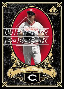 2007 SP Legendary Cuts #25 Tony Perez