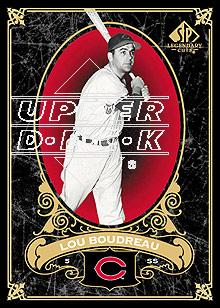 2007 SP Legendary Cuts #30 Lou Boudreau