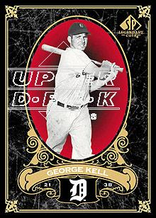 2007 SP Legendary Cuts #33 George Kell