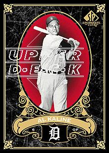 2007 SP Legendary Cuts #35 Al Kaline