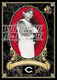 2007 SP Legendary Cuts #36 Ted Kluszewski