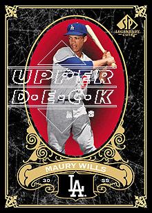 2007 SP Legendary Cuts #38 Maury Wills