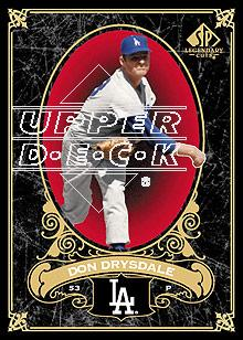 2007 SP Legendary Cuts #39 Don Drysdale