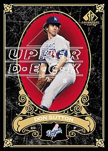 2007 SP Legendary Cuts #40 Don Sutton