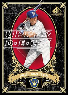 2007 SP Legendary Cuts #43 Paul Molitor