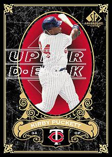 2007 SP Legendary Cuts #44 Kirby Puckett