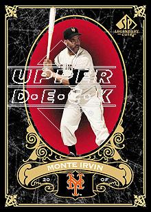 2007 SP Legendary Cuts #46 Monte Irvin