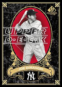2007 SP Legendary Cuts #52 Joe DiMaggio