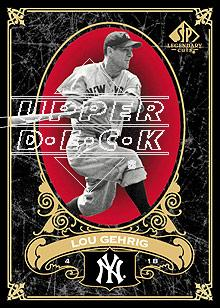 2007 SP Legendary Cuts #53 Lou Gehrig
