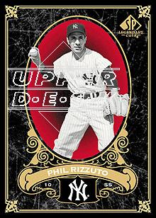 2007 SP Legendary Cuts #56 Phil Rizzuto