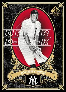 2007 SP Legendary Cuts #58 Johnny Mize