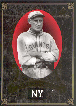 2007 SP Legendary Cuts #60 Rube Marquard