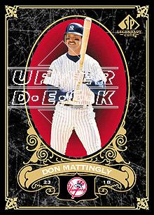 2007 SP Legendary Cuts #61 Don Mattingly