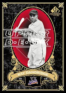 2007 SP Legendary Cuts #62 Ray Dandridge front image